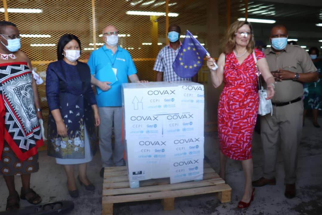 Eswatini receives vaccines