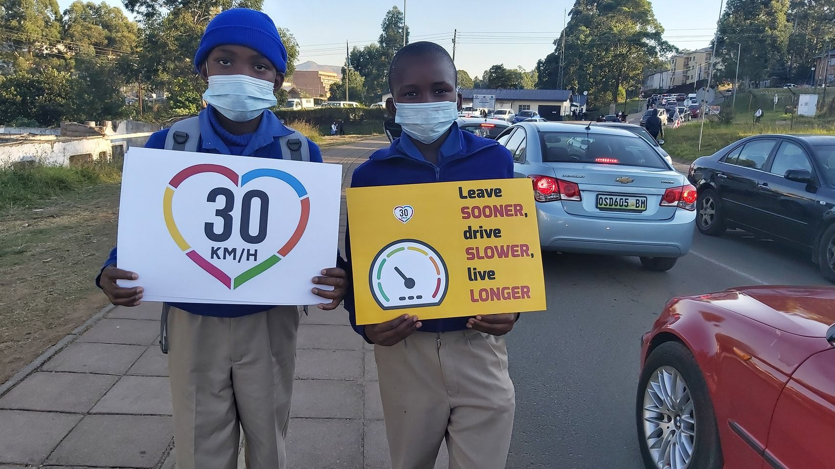 Road safety week awareness at MDS Primary School