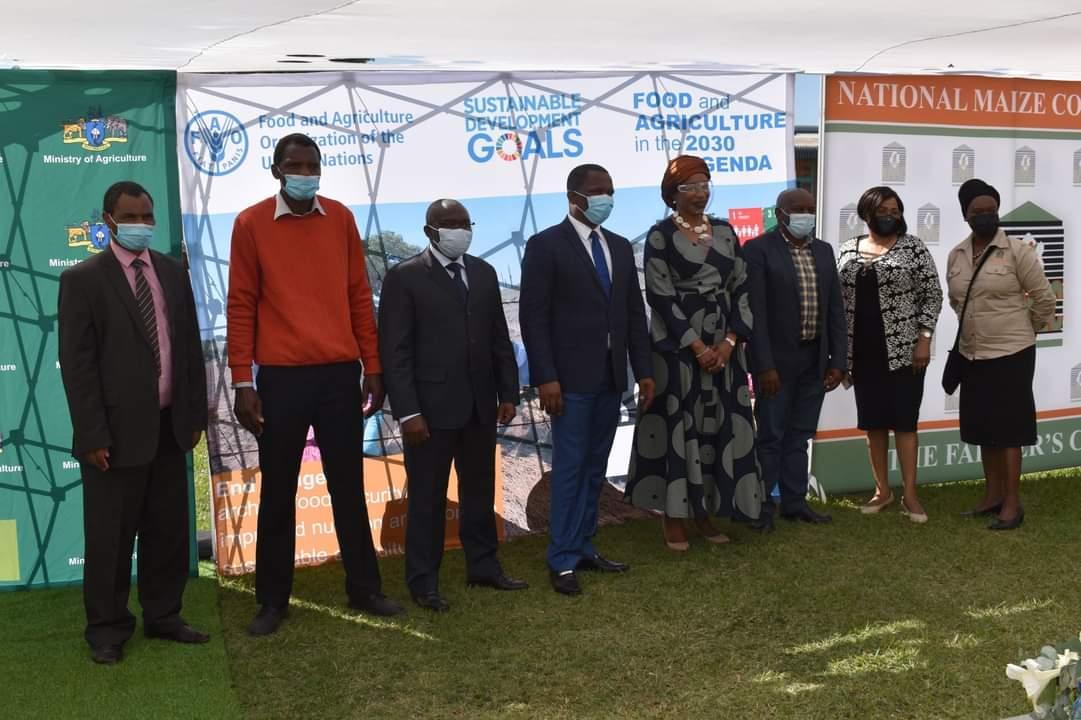UN in Eswatini Donates Farm Inputs Worth E1 Million to 25 Farmers