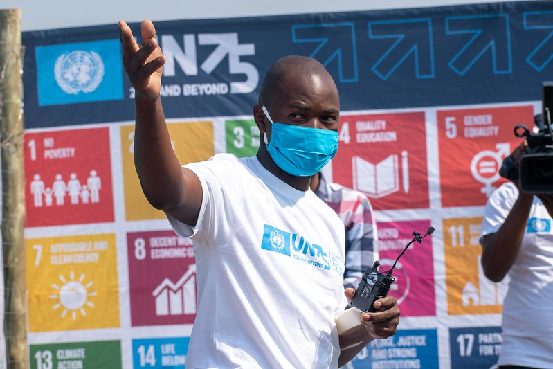 The UN and the Woman Farmer Foundation Celebrate International Youth Day with Young Farmers