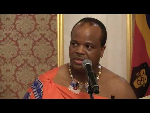 UN Resident Coordinator presents credentials to His Majesty King Mswati III