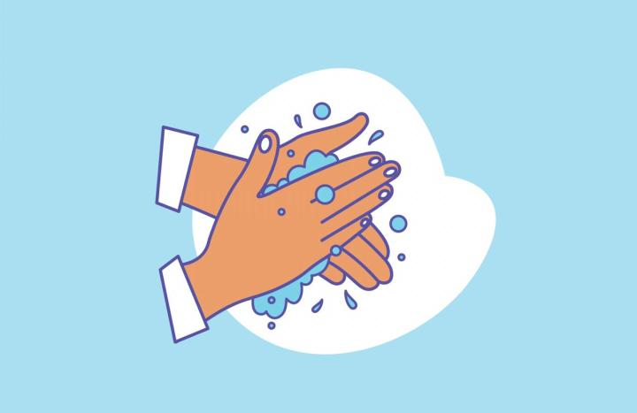 Washing Hands Illustration